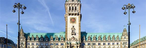 3 Tipps: Hamburger Rathaus schattenfrei fotografieren