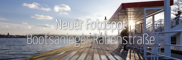 Neuer Fotospot #100: Bootsanleger Rabenstraße (KW 4)