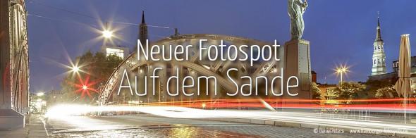 Neuer Fotospot #108: Auf dem Sande/Brooksbrücke (KW 12)
