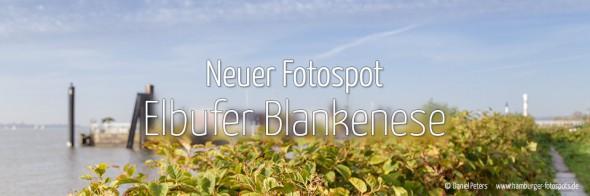 Neuer Fotospot #109: Elbufer Blankenese