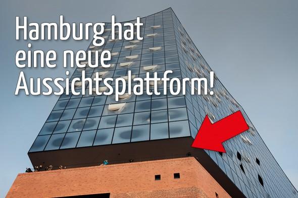 Hamburg hat eine neue Aussichtsplattform!
