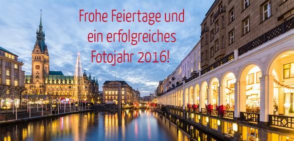 Frohe Feiertage und ein erfolgreiches Fotojahr 2016!