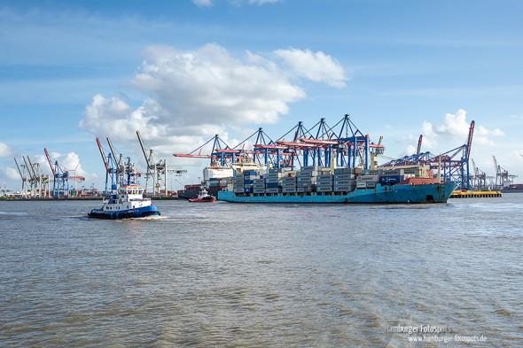 Hafenrundfahrt mit der HADAG-Fähre 62
