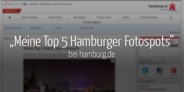So bloggt Hamburg: Neuer Artikel von uns bei Hamburg.de