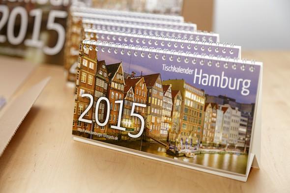 10 Gewinner stehen fest: Tischkalender Hamburg 2015