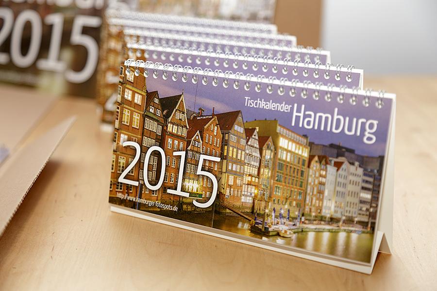 Hamburg Tischkalender 2015