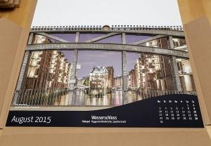 Hamburg Wandkalender 2015 Wasserschloss