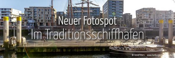 Neuer Fotospot #110: Im Traditionsschiffhafen (KW 14)
