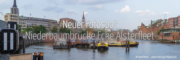 Neuer Fotospot #94: Niederbaumbrücke Ecke Alsterfleet (KW 50)
