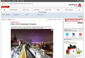 Screenshot hamburg.de