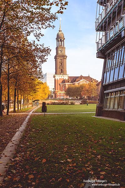 "St. Michaelis ""Michel"" in Hamburg"