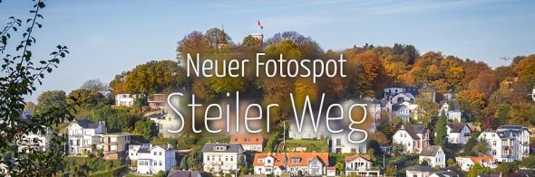 Neuer Fotospot #101: Steiler Weg im Treppenviertel (KW 5)