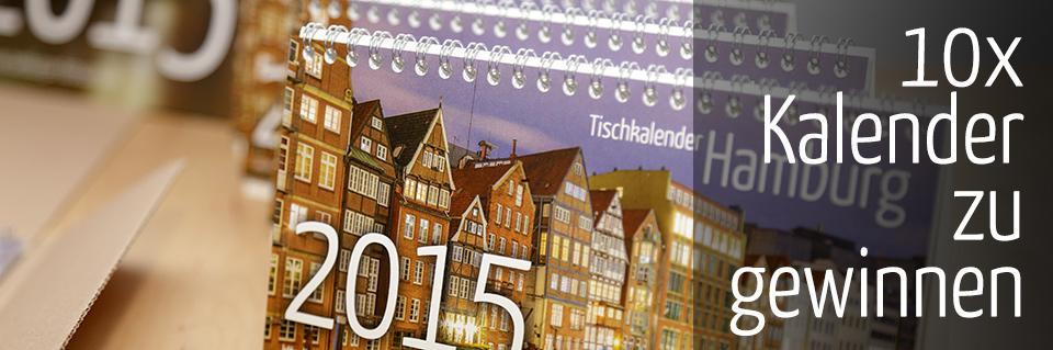 Hamburg Kalender gewinnen