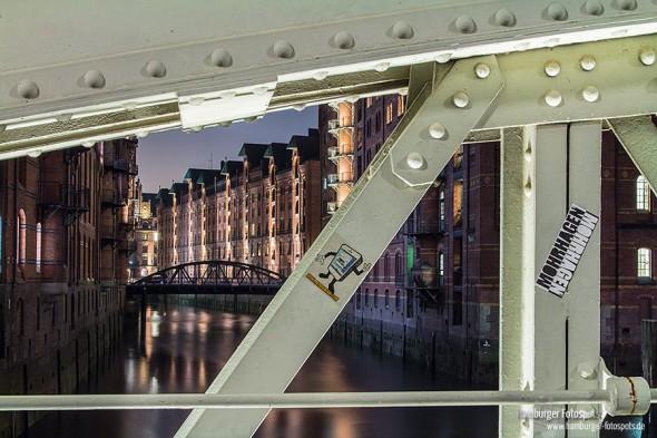 Neuer Fotospot: Wandrahmsfleetbrücke (2 Positionen)